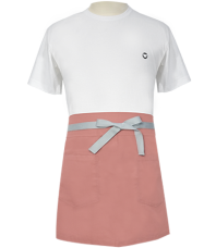 Bistro Style Bistro Style Apron Dusty Rose